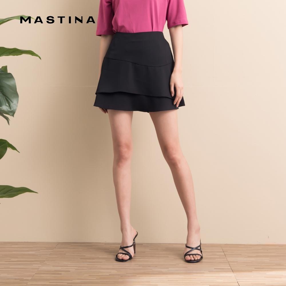 【MASTINA】浪漫質感-短裙(黑色)
