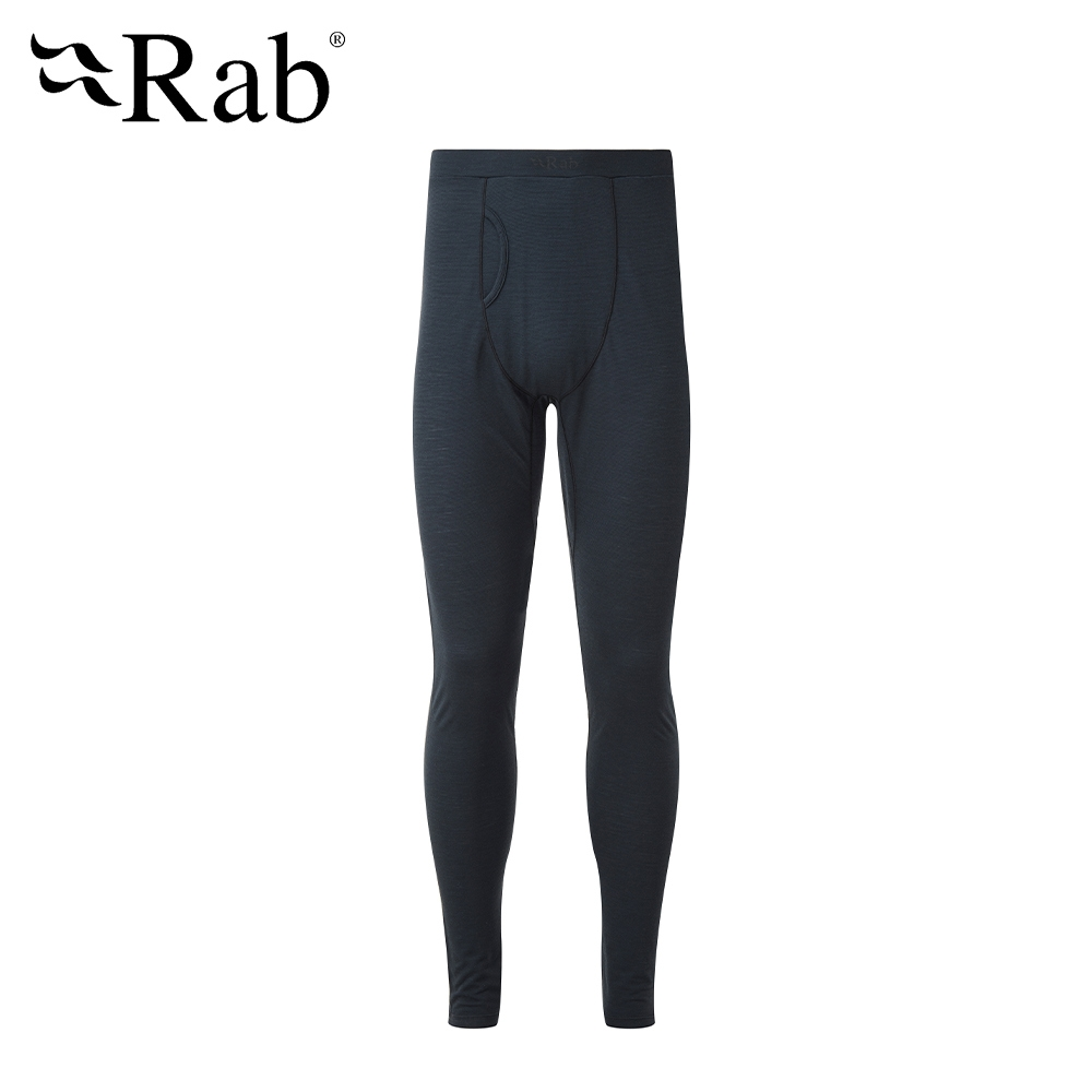 【RAB】Forge Legging 羊毛排汗內搭褲 男款 鯨魚灰 #QBU89