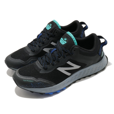 New Balance 慢跑鞋 Fresh Foam 寬楦 運動 女鞋 紐巴倫 輕量 透氣 舒適 路跑 避震 黑 藍 WTARISM1D