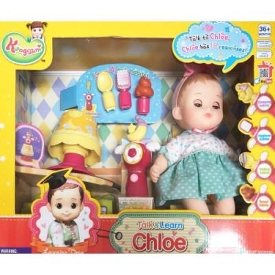 任選小荳娃娃說說學學可可妹妹YT31043 原廠公司貨