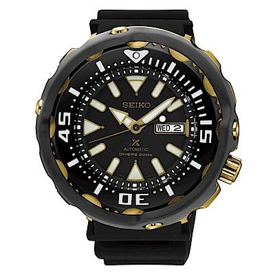 SEIKO PROSPEX 鮪魚罐頭防水200米/勇將鋼帶潛水錶/4R36-05T0K/S