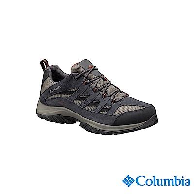Columbia 哥倫比亞 男款-防潑水登山鞋-灰色 UBM53720GY