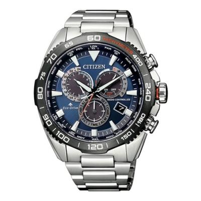 CITIZEN 星辰PROMASTER 廣告款五局電波光動能腕錶(CB5034-82L)