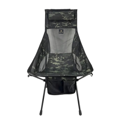 OWL CAMP LN-1722 暗黑迷彩高背椅