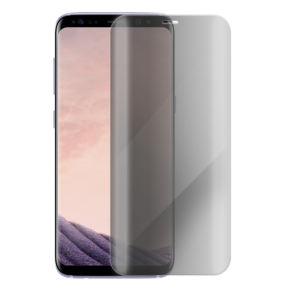 Metal-Slim Samsung GALAXY S8 防窺滿版9H鋼化玻璃貼