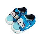 迪士尼 TsumTsum 米奇唐老鴨 手工學步鞋-藍