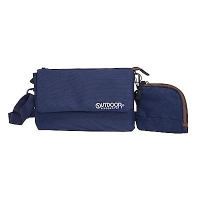 輕旅遊系列-側背包+零錢包-藍 ODS17F02NY