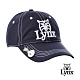 【Lynx Golf】防潑水磁鐵Ball mark山貓LOGO可調節式球帽-深藍色
