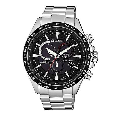 CITIZEN 浩瀚時空電波光動能腕錶/CB5838-85E