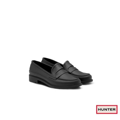 HUNTER - 女鞋-Refined樂福休閒鞋 - 黑