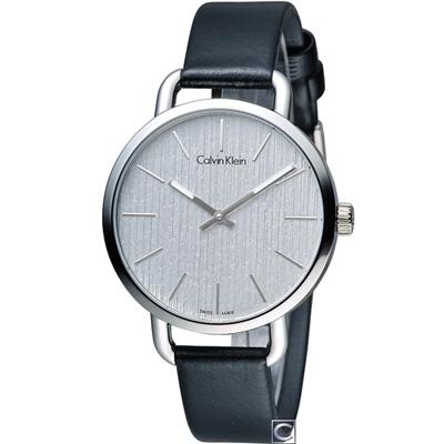 Calvin Klein even 超然時尚腕錶(K7B231C6)