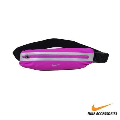 NIKE 腰包 運動 慢跑 小包 SLIM WAISTPACK 擴充式 紫粉/銀 NRLA0526OS