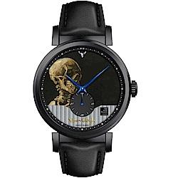 梵谷Van Gogh Swiss Watch小秒盤梵谷經典名畫男錶(C-BLMS-30)