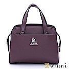 WuMi 無米 羅琳亞極簡手提包 煙燻紫