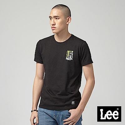 Lee UR短袖圓領TEE-黑