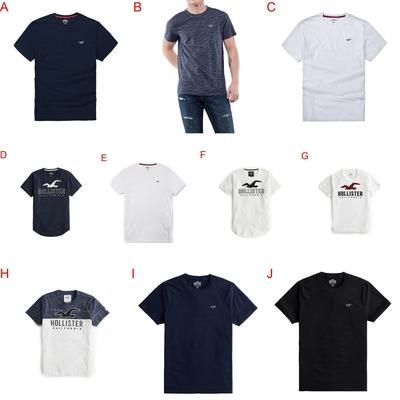 [時時樂限定] Hollister 短袖 T恤  (10款任選)