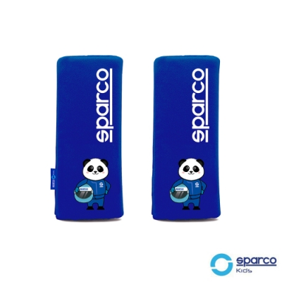 義大利SPARCO兒童安全帶護套-藍色
