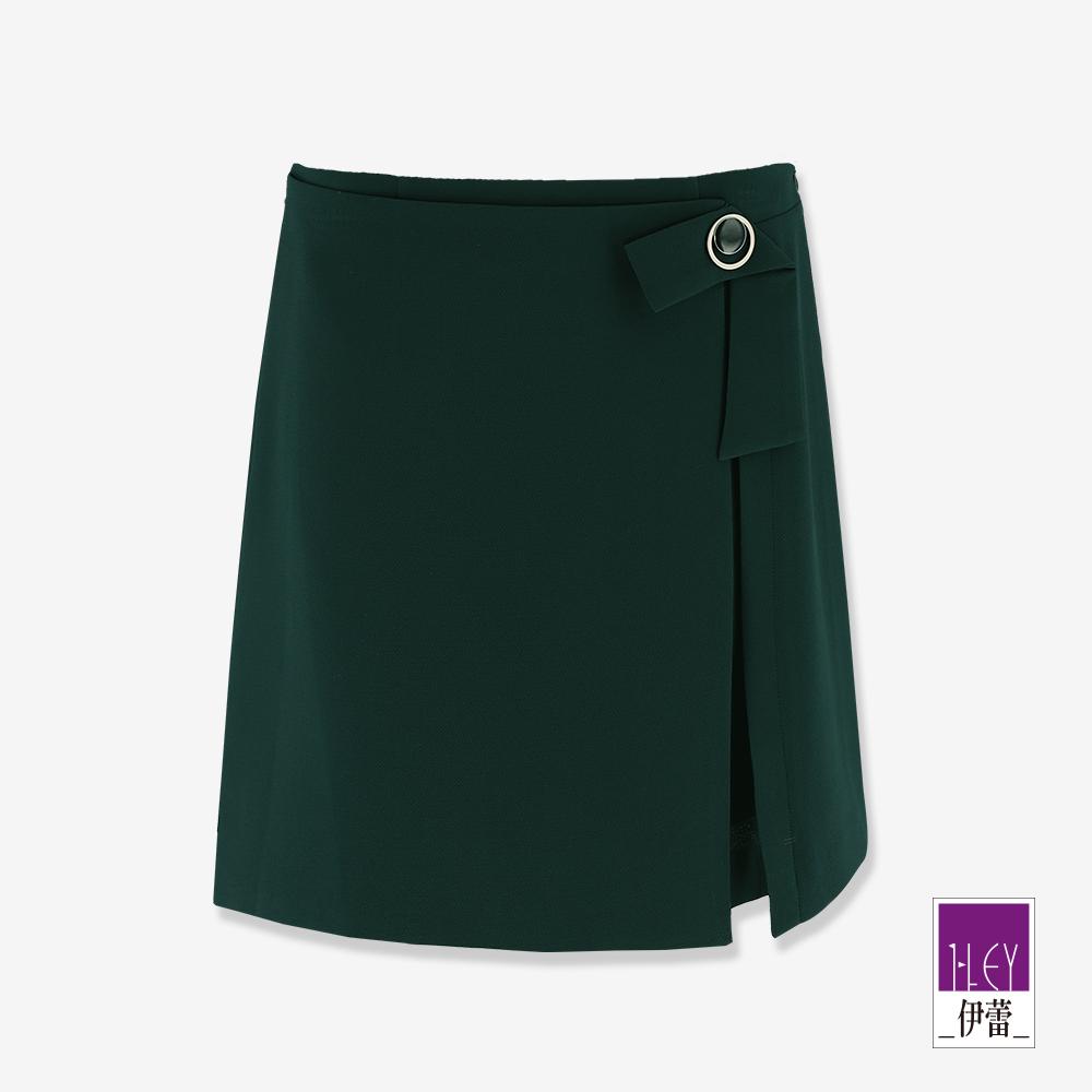 ILEY伊蕾 都會風活片造型褲裙(綠)