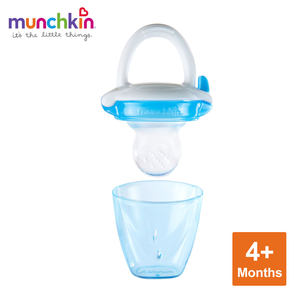 munchkin滿趣健-嬰兒新鮮食物咬咬訓練器-多色