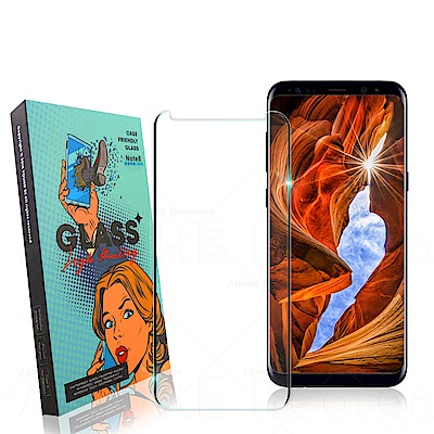 YOUND DI for SAMSUNG Galaxy S8+ 3D曲面玻璃硬度加強版