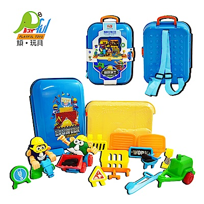 Playful Toys 頑玩具 道路施工背包組