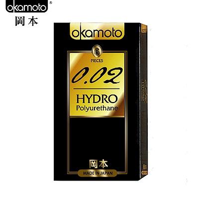 岡本002-HYDRO 水感勁薄保險套(6入裝)x4盒