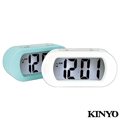 KINYO北歐風LCD電子鐘TD385