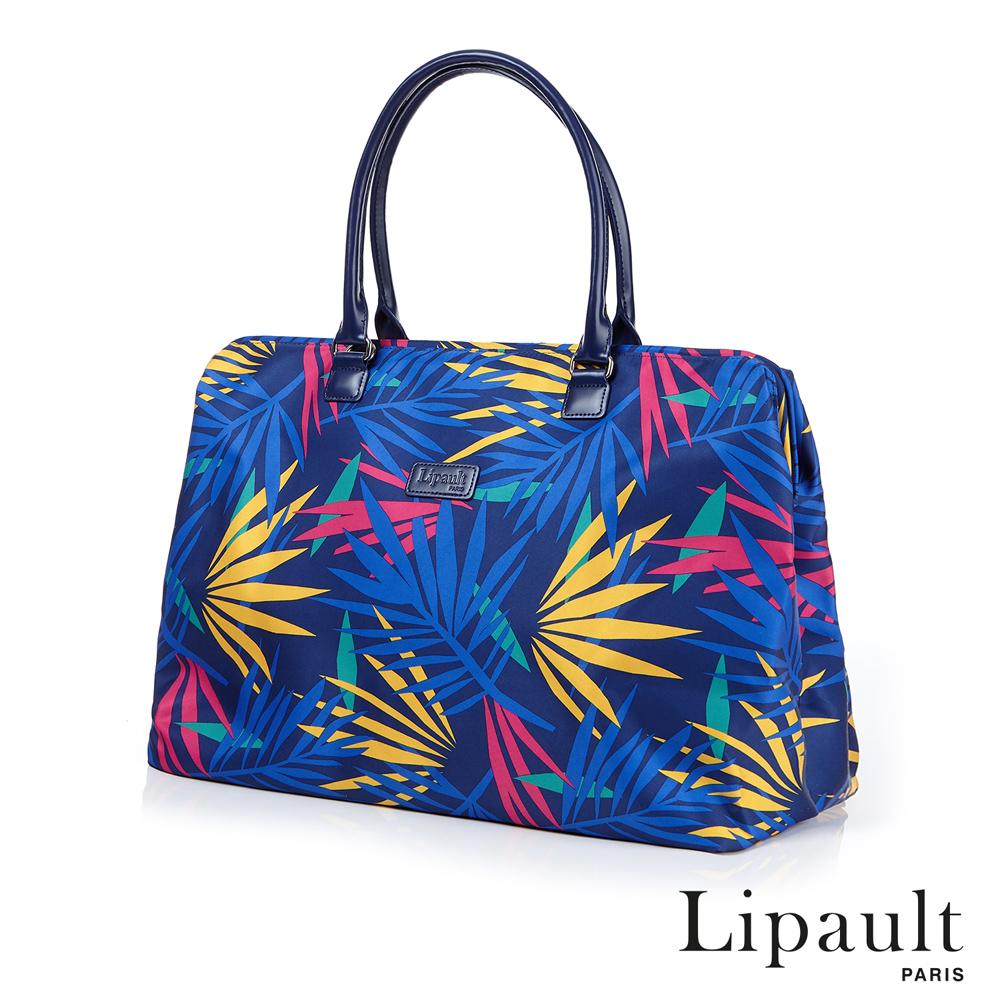 法國時尚Lipault Tropical Night旅行袋(熱帶藍)