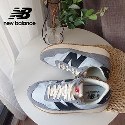 【New Balance】復古運動鞋_中性_藍灰色_MS237SA-D楦