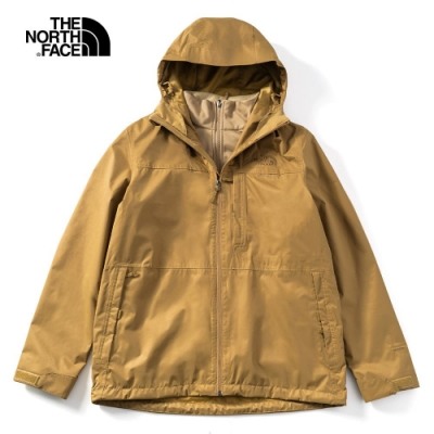 The North Face 男 三合一防水透氣保暖外套 卡其 NF0A4NCLP38