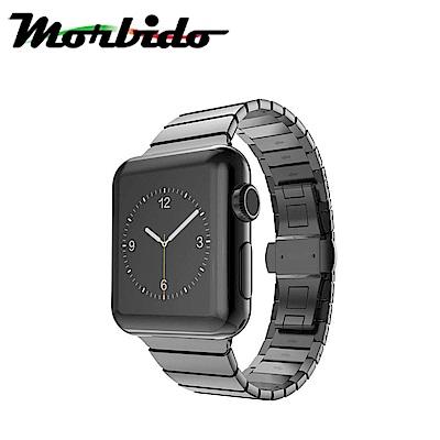 Morbido蒙彼多 Apple Watch 38mm鍊式不鏽鋼錶帶