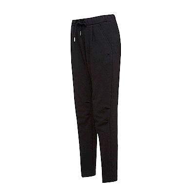 FILA #漢城企劃 女款針織長褲-黑 5PNT-1424-BK