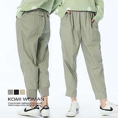 【KOMI】大地色系鬆緊腰棉老爺褲(三色) @ Y!購物