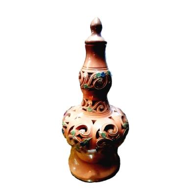 原藝坊馬來西亞開運陶甕/鹽燈 (附安全認證電線一條及E12燈泡一個及結晶玫瑰鹽一包)
