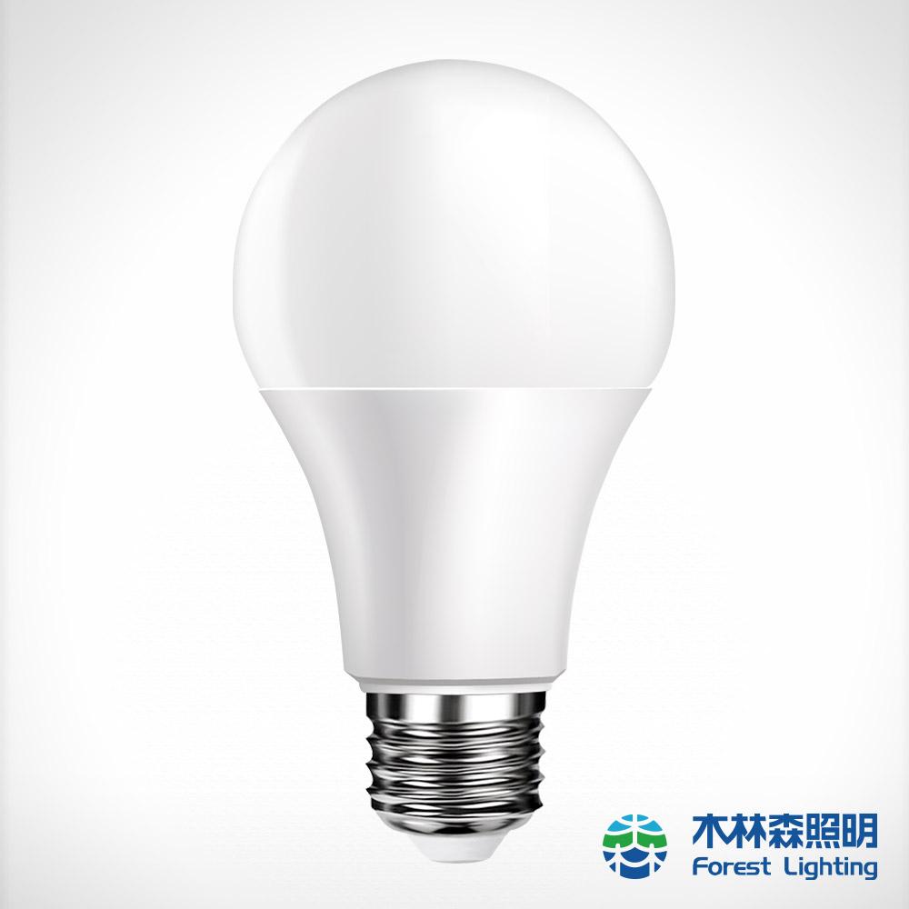 木林森Forest  12W LED 高效能燈泡10入組(白光/黃光)