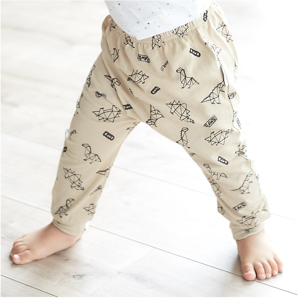 baby童衣 兒童長褲 多花色滿版印花褲 純棉長褲 90069