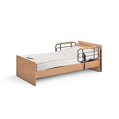 KOIZUMI-CARE-UP單馬達居家電動床-原木色