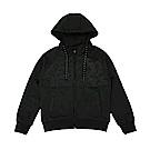 ZEPRO 兒童圖騰休閒外套-低調黑