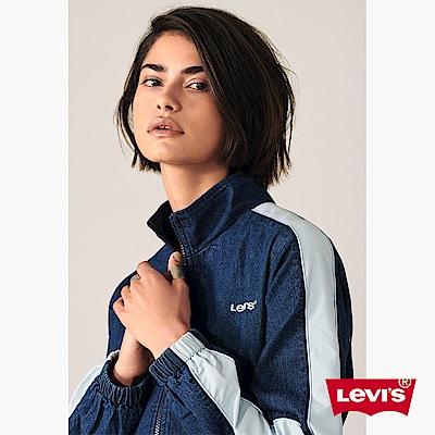 Levis 女款 教練外套 胸前LOGO標語 丹寧