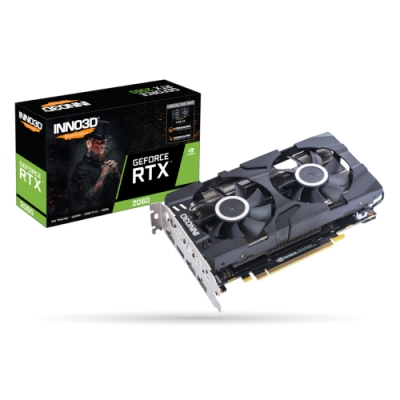 INNO3D映眾【N20602-06D6-1710VA15L】GeForce RTX 2060 6GB GDDR6 TWIN X2 顯示卡