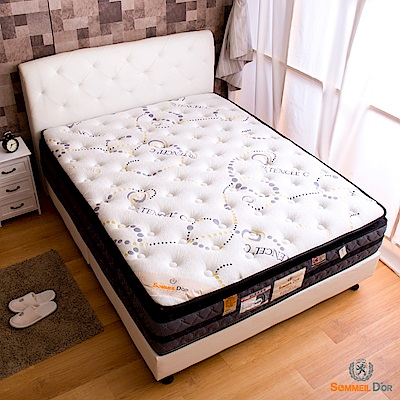 思夢樂-天絲C正三線單人加大3.5尺獨立筒床墊