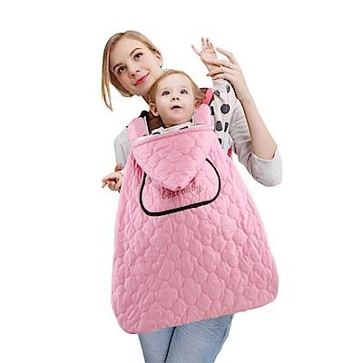 DF 童趣館 - 嬰兒防潑水披風蓋被防風毯抱毯-共3色