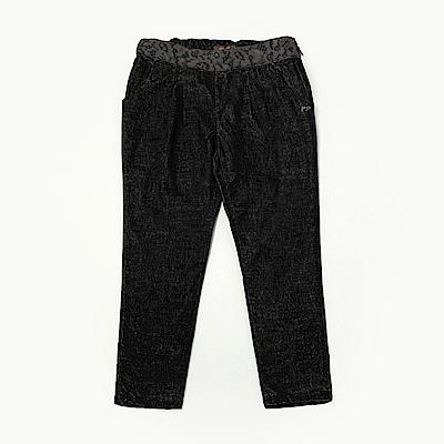 PIPPY 保暖彈性絨布褲 深灰