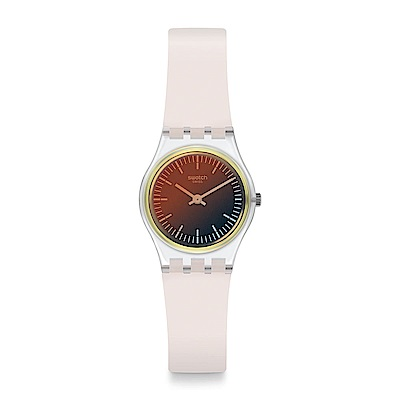Swatch Energy Boost 系列 ULTRA GOLDEN 優雅淡金手錶