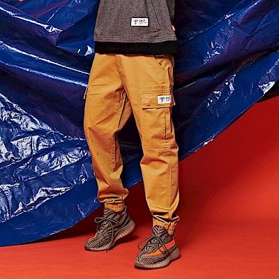 CACO-側大口袋縮口褲-(三色)-男【QST051】