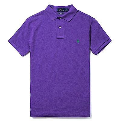 Polo Rlaph Lauren 經典電繡小馬Polo衫(Slim)-暗紫色
