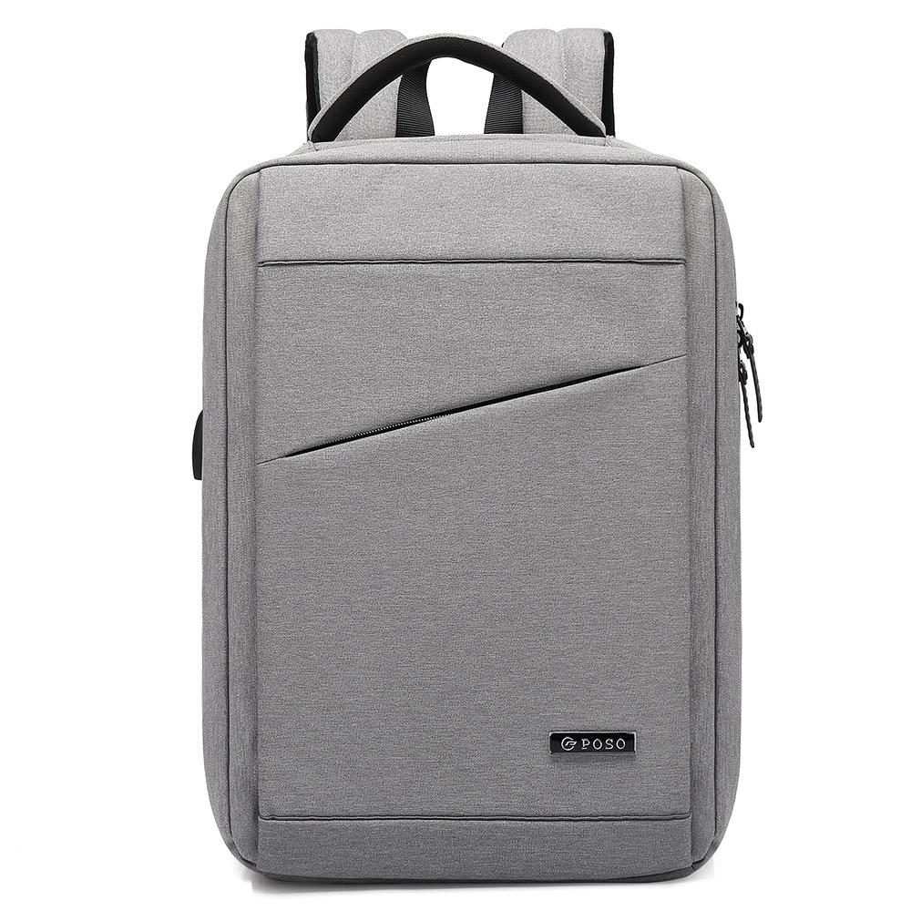 15.6吋 俐落極簡風 反光條 舒適背墊設計 MacBook Air 平板筆電背包 product image 1