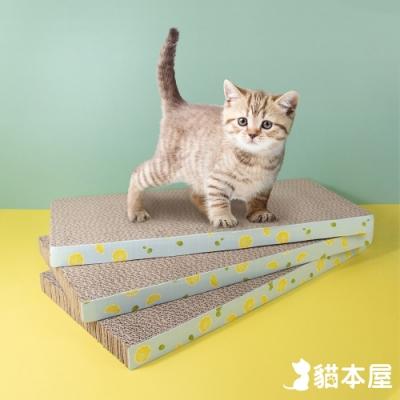 貓本屋 貓抓板 平板型(三件組)