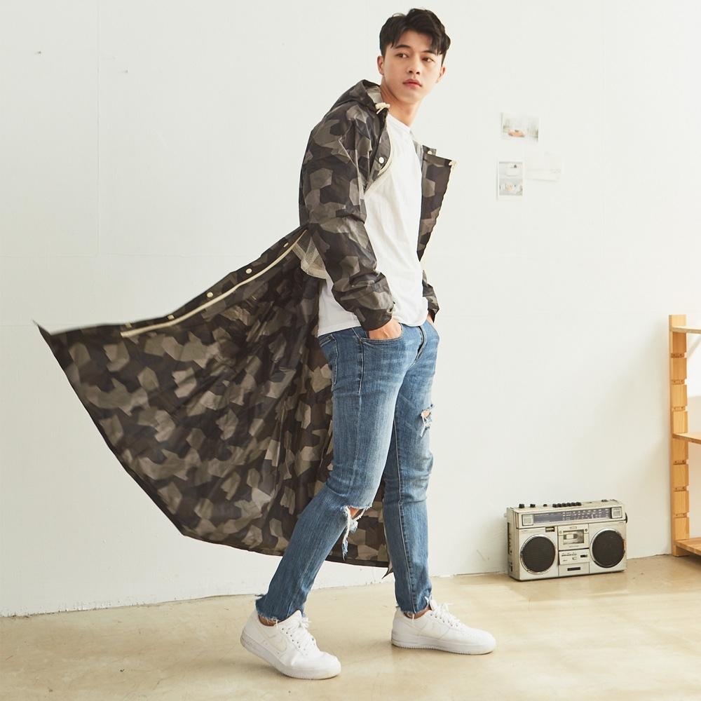 RAINSTORY酷玩迷彩連身雨衣(XL號)