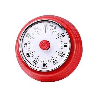 PUSH! 餐廳廚房用品機械式計時器磁吸烹飪定時器倒數計時提醒器D258